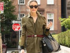 名媛奥利维亚巴勒莫穿衣风格 搭配达人简约单品穿出时尚感